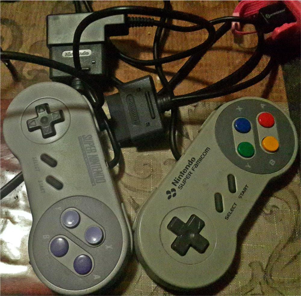 Snes authentic controller USA vs Super Famicom Controller Game Pad