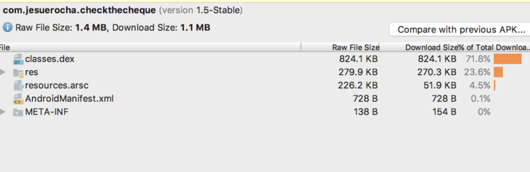 2MB to 1.4MB reduction