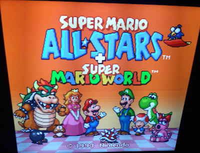December 1994 Super Mario All-Stars + Super Mario World