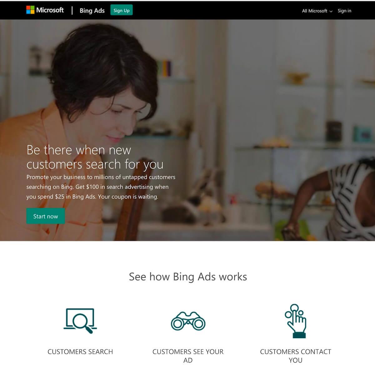 Online Advertising: Bing Ads