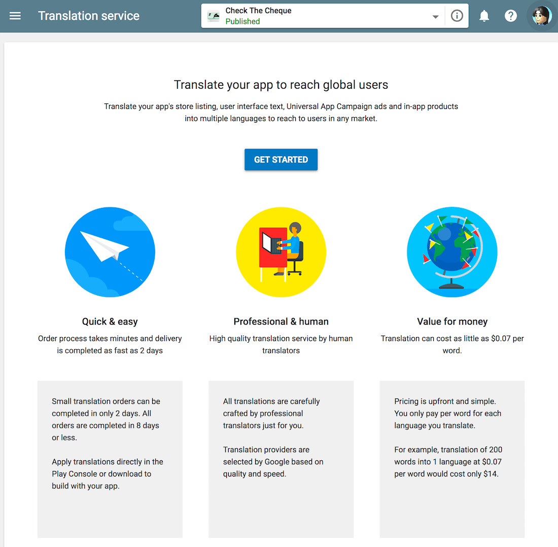 Translate your app to reach global users