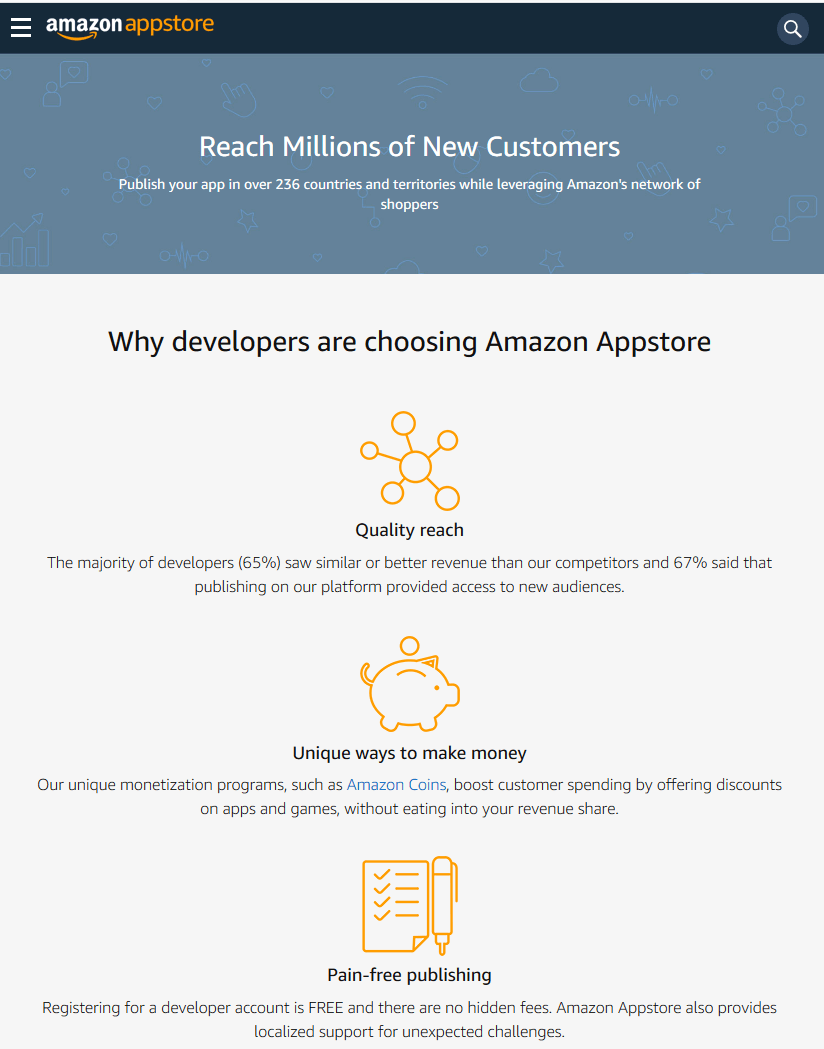 Be an Amazon Developer for $0