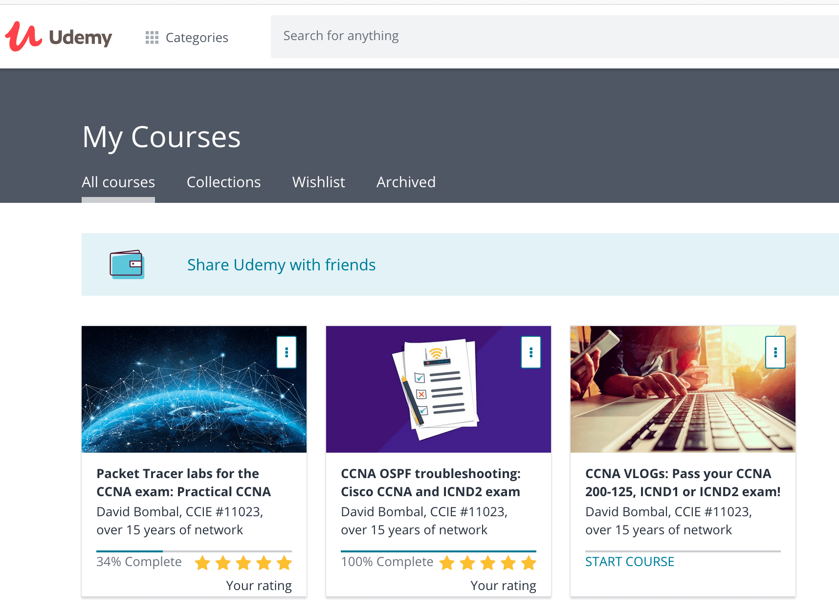 Udemy's online courses