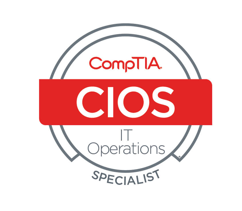 Infrastructure CompTIA IT Operations Specialist - CIOS JesueRocha