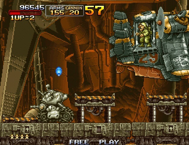 Wii Metal Slug Anthology works on Dolphin