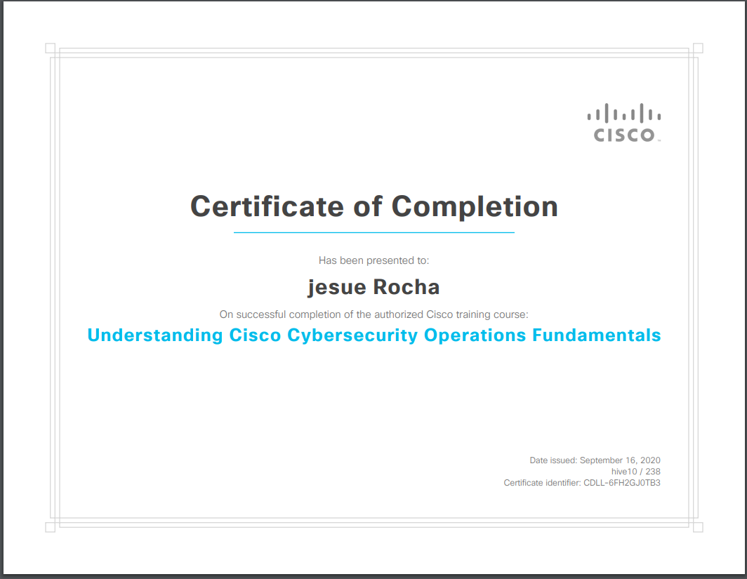 Free 200-201 CBROPS | Cisco CyberOps Certification Voucher from US Cyber Veterans Cisco Training Program
